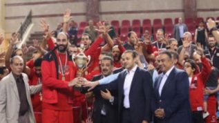 الفريق كرة السلة بالنادي الأهلى