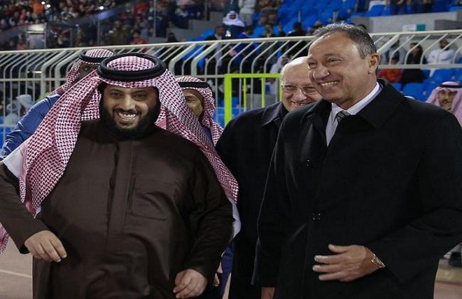 محمود الخطيب وتركي أل الشيخ