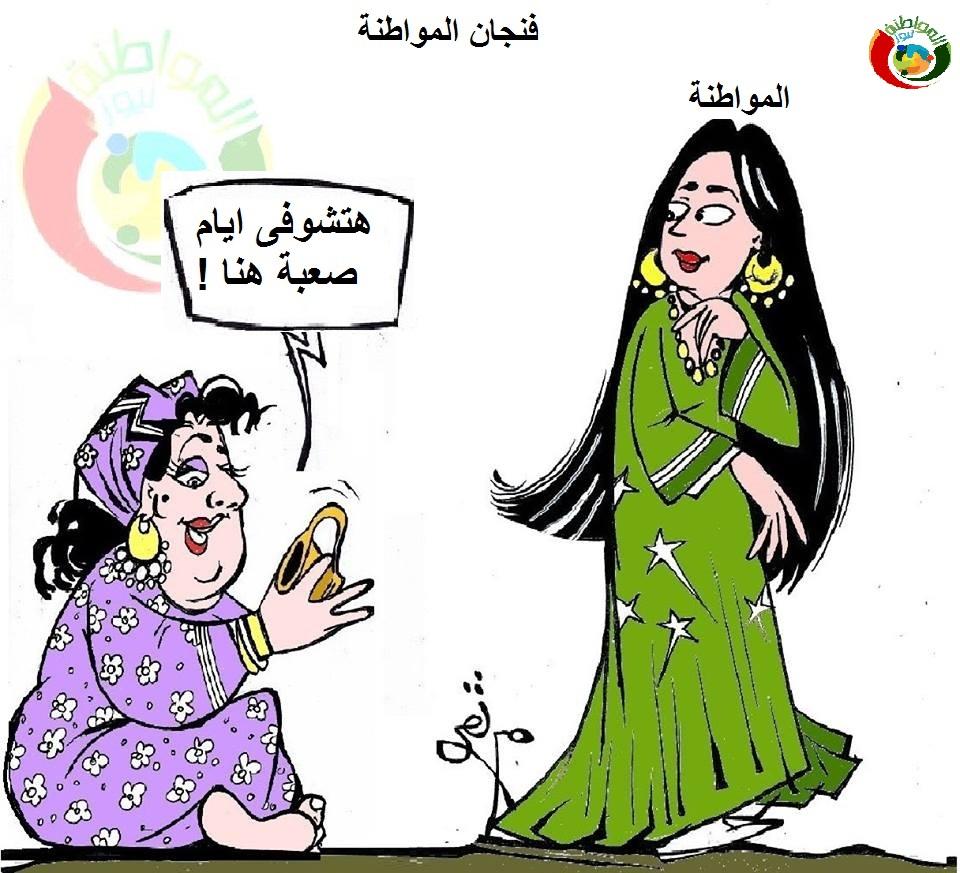 كاريكاتير المواطنة نيوز 123