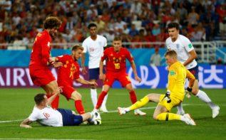 المنتخبان الإنجليزي والبلجيكي