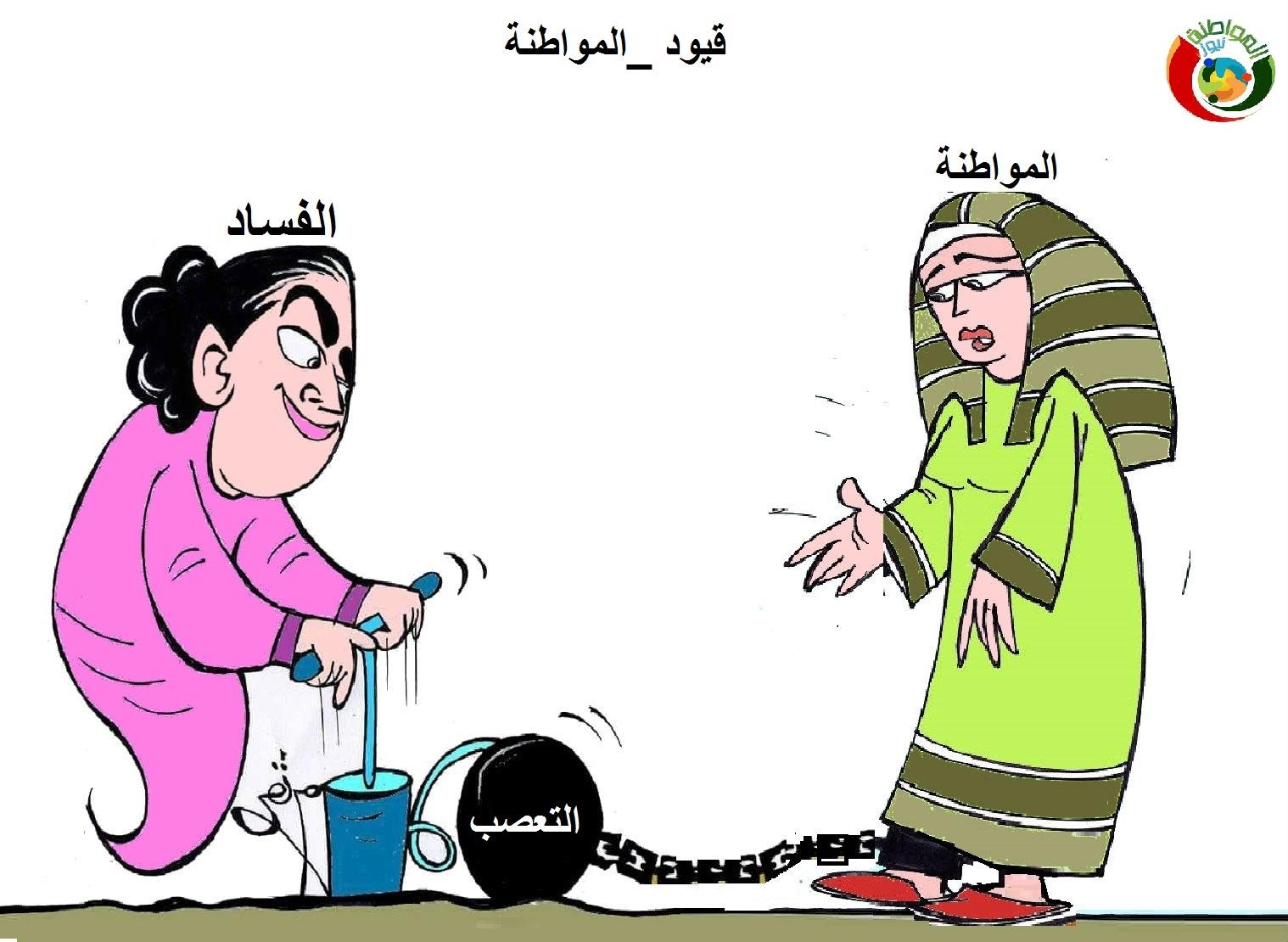 كاريكاتير المواطنة نيوز د